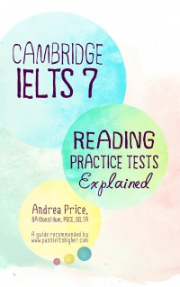 IELTS Reading – Cambridge IELTS 7 Reading Practice Tests Explained