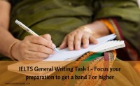 IELTS General Writing Task 1 – Prepare to get a band 7 or higher