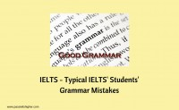 IELTS – Typical IELTS' Students' Grammar Mistakes